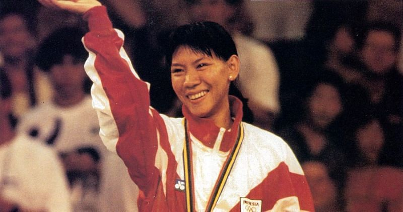 Susi Susanti won her first All England title in 1990 (Image: BWF)