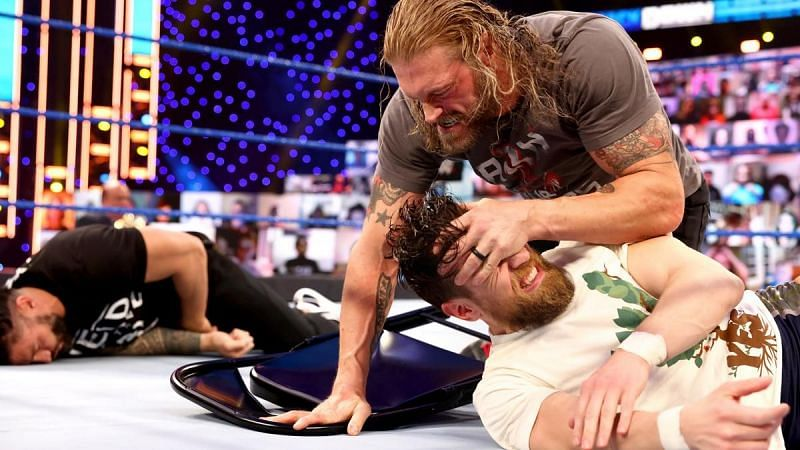 Edge is done with all the changes to his WrestleMania match