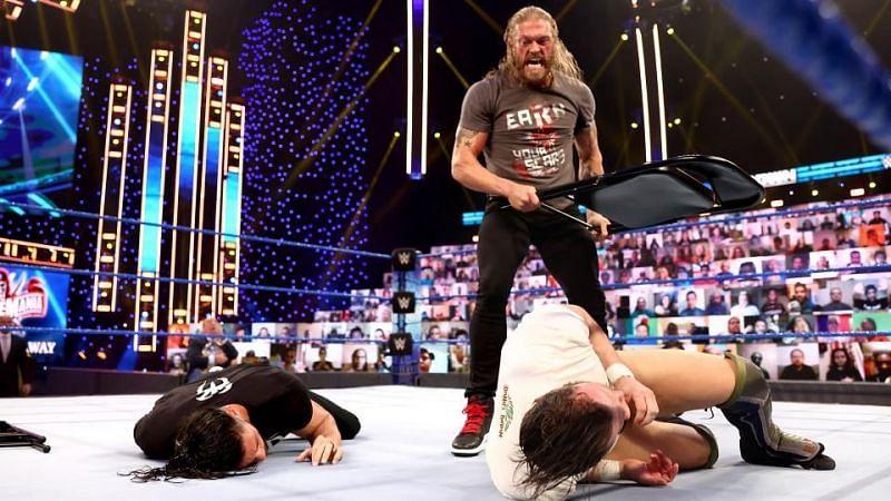 Edge laid down Roman Reigns and Daniel Bryan last week on SmackDown