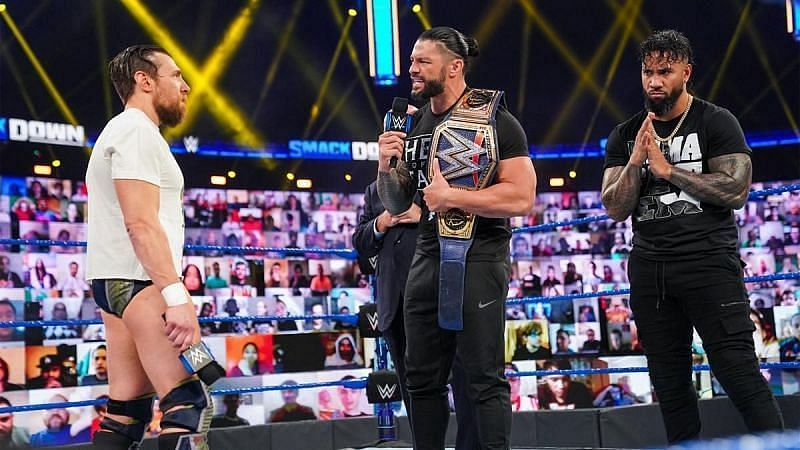 Roman Reigns must face Daniel Bryan before Edge