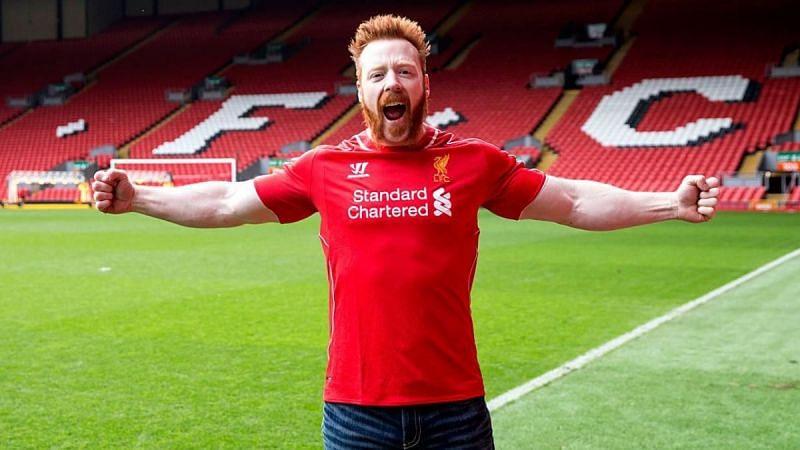 Sheamus is a huge Liverpool fan