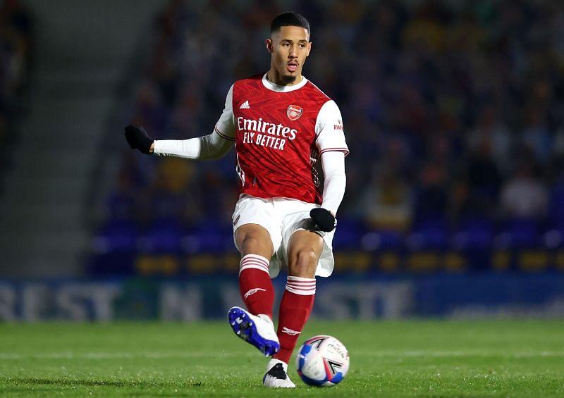 Saliba did not enjoy his time at Arsenal