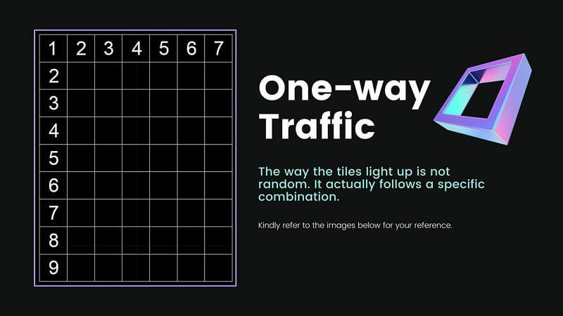 One-Way Traffic layout (Image via Asoserac14, HoYoLab)