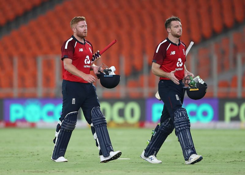 Jos Buttler (R) is perhaps the best white-ball finisher in the world currently