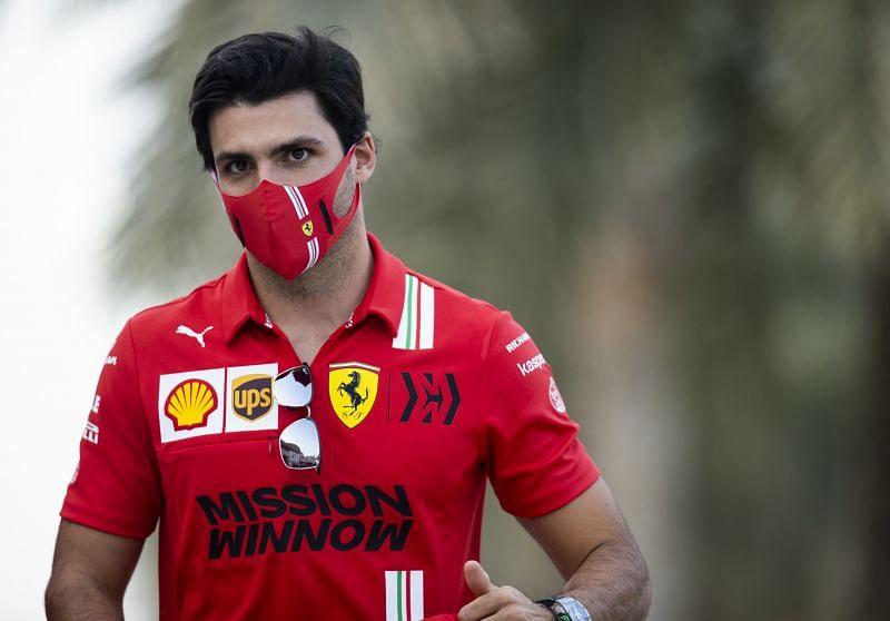 Carlos Sainz makes his debut with Ferrari in Bahrain. Photo: Mark Thompson/Getty Images.