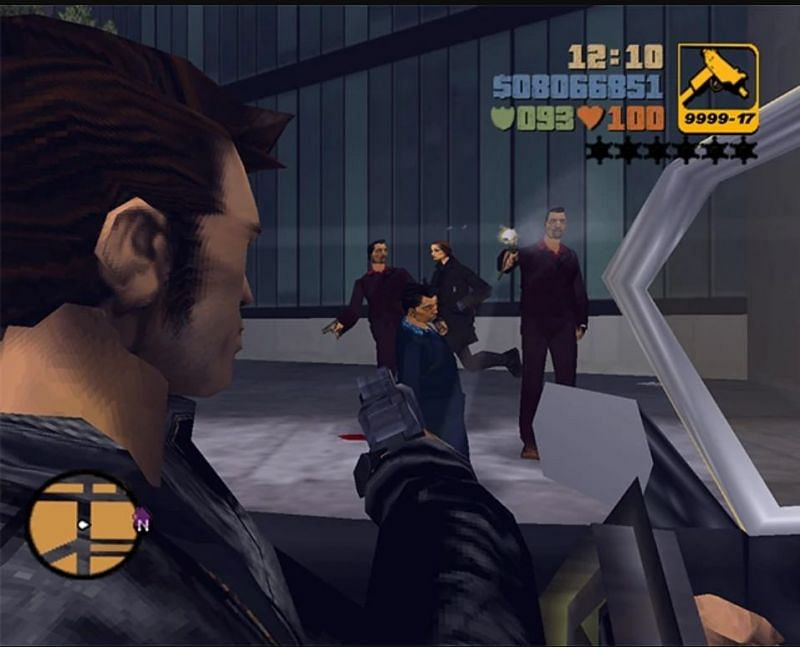 Having the ability to perform a Drive-By Shooting is one of the greatest features in the GTA series (Image via GTA Wiki)