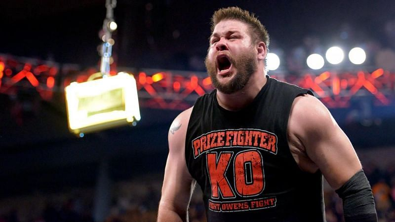 Kevin Owens has never won a Money in the Bank ladder match