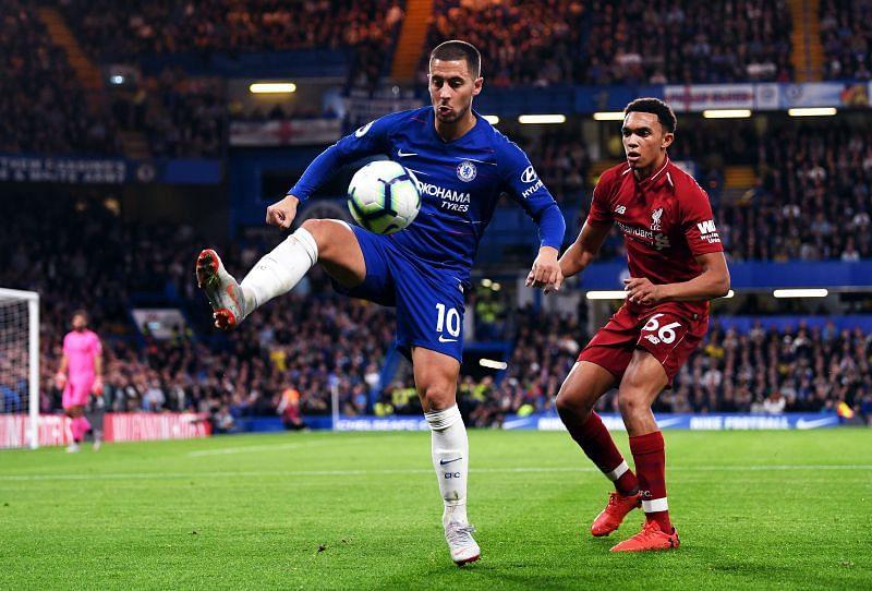 Eden Hazard has played some terrific games against Liverpool