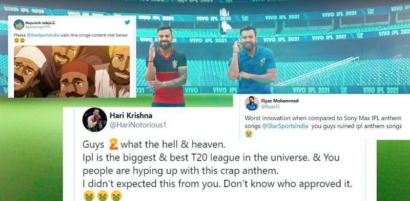 Twitter Reactions on IPL 2021 Anthem