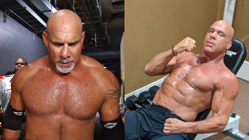 Goldberg and Kurt Angle.