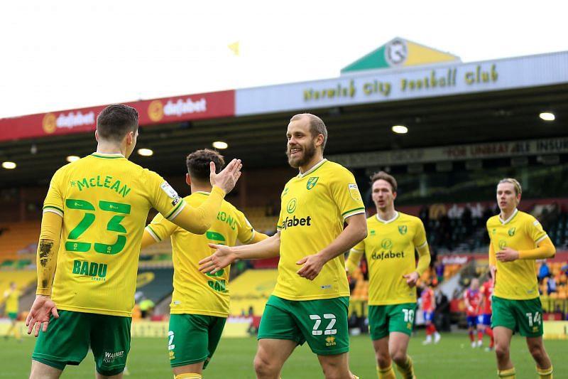 Norwich City play Preston North End on Friday