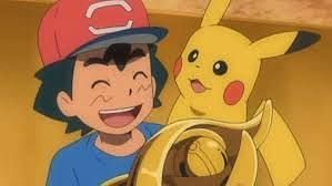Ash wins the Alola League Championship (Image via The Pokemon Company)