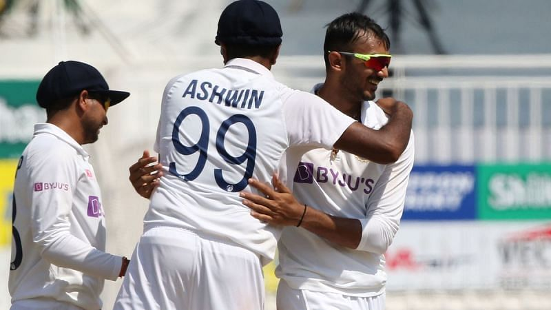 Ashwin and Axar are the top two wicket-takers in the series