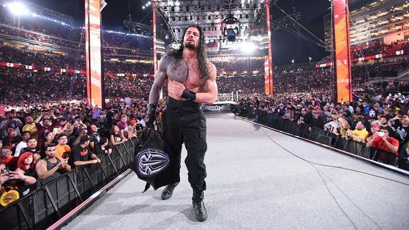 WWE WrestleMania में रोमन रेंस का प्रदर्शन