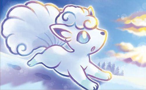 Alolan Vulpix (Image via Saya Tsuruta and The Pokemon Company)