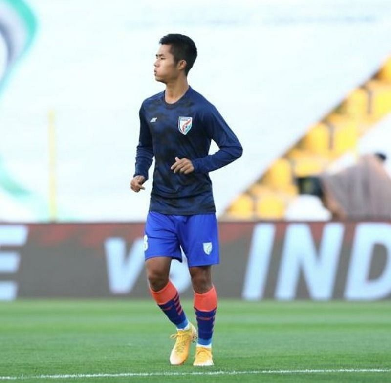 Lalengmawia gave a good account for himself and can challenge the likes of Anirudh Thapa and Rowllin Borges for a place in the starting line-up for India (Image Courtesy: AIFF Media)