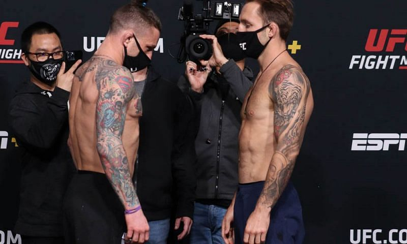 UFC Vegas 22 has lost its co-main event hours before the show