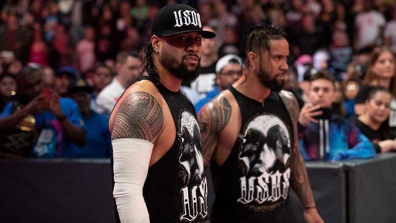 Jimmy Uso and Jey Uso
