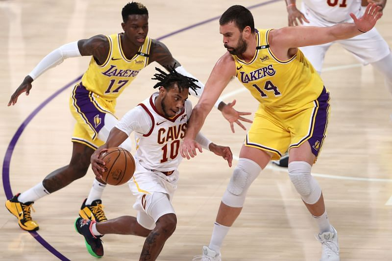 The Purple and Gold completed the season sweep over the Cavs