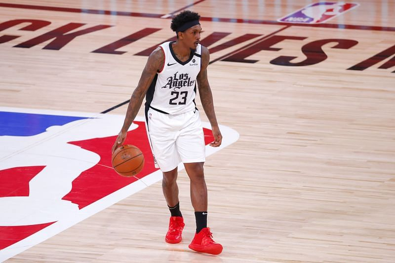 Lou Williams with the LA Clippers