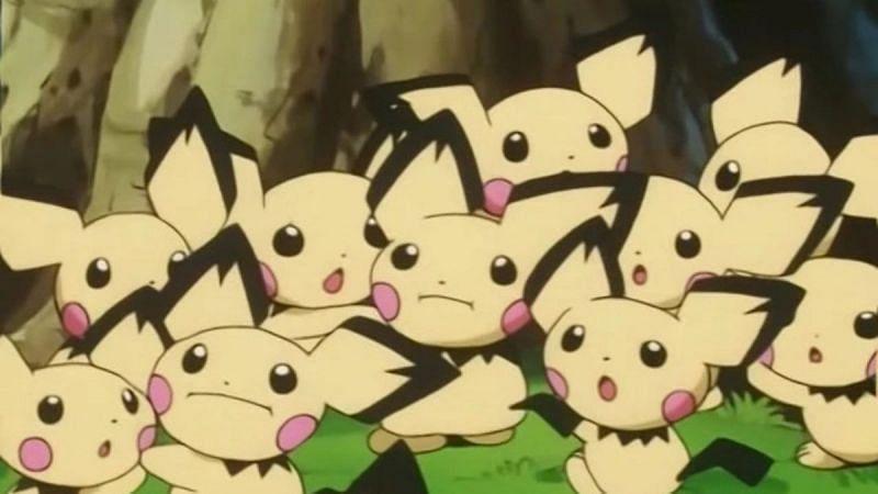 A Pichu horde (Image via The Pokemon Company)