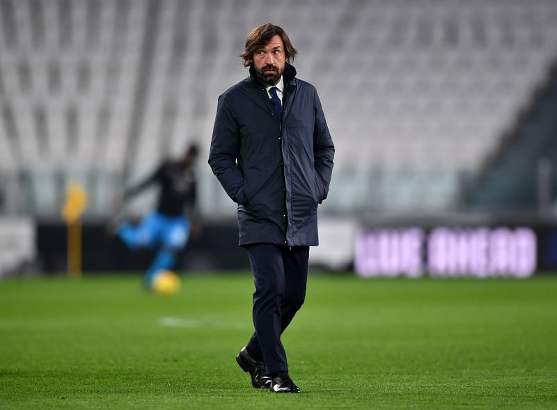 Juventus manager Andrea Pirlo has an important week ahead of him