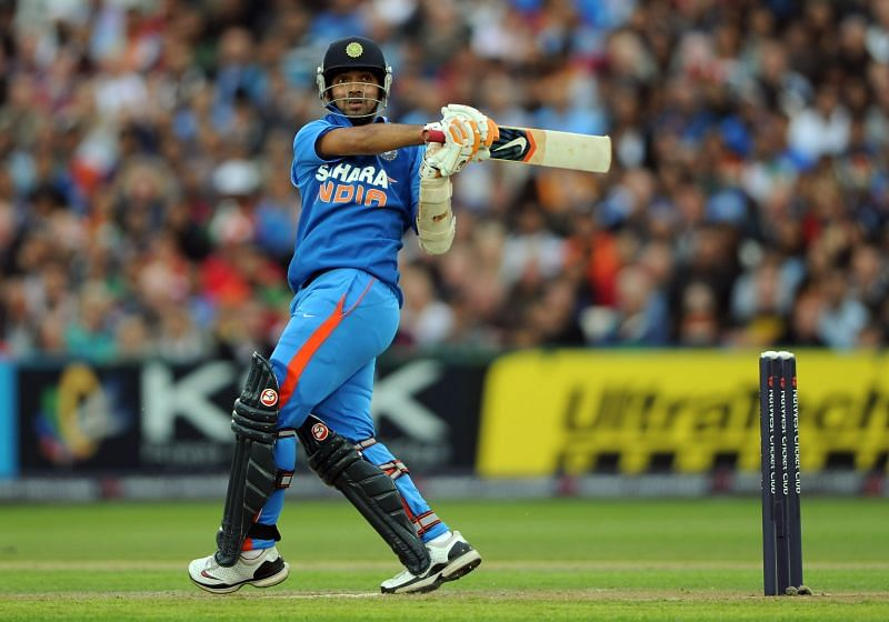 Ajinkya Rahane made a rousing T20I debut for India ten years ago.