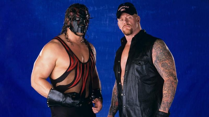 The Undertaker and Kane in WWE