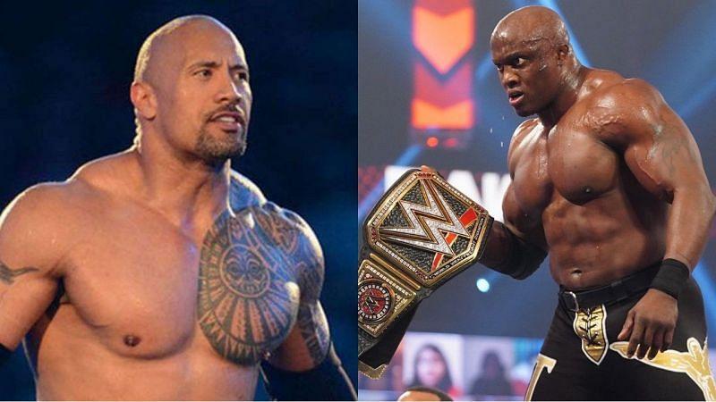 द रॉक ने हाल ही में नए WWE चैंपियन बॉबी लैश्ले की तारीफ की है