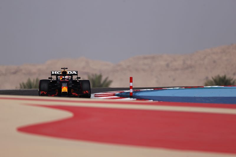 Max Verstappen topped the first free practice session of the year. Photo: Lars Baron/Getty Images.