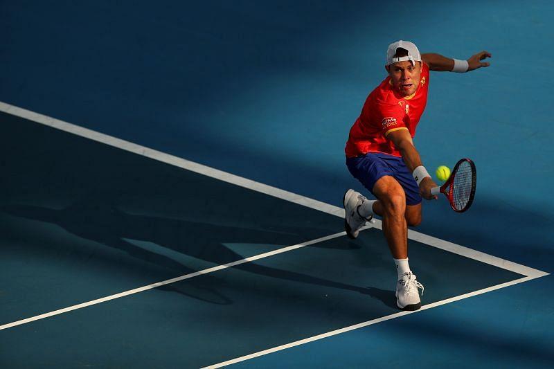 Radu Albot is a fighter on the court