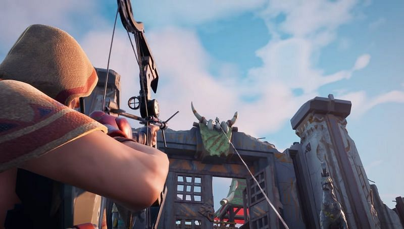 Only photo of the Grappler Bow (Image via Twitter)