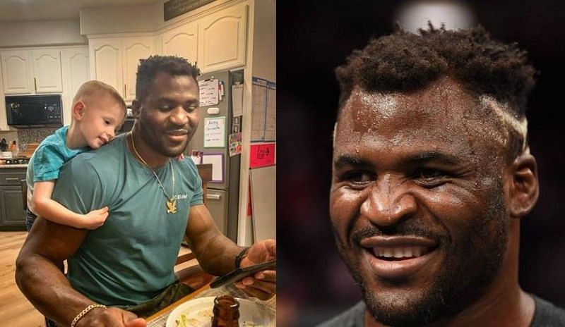 Knox Nicksick (left); Francis Ngannou (center and right)