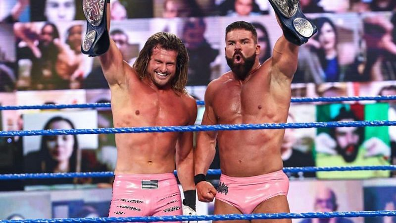 SmackDown Tag Team Champions Dolph Ziggler and Robert Roode