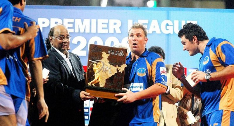 Rajasthan Royals won the inaugural edition of the IPL (Image Courtesy: wisden.com)