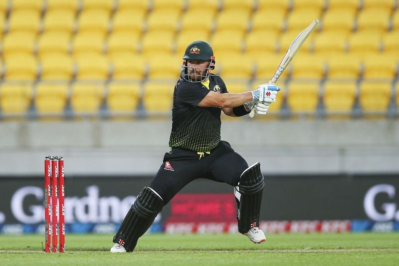 Aaron Finch played a captain