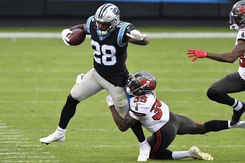 Carolina Panthers RB Mike Davis