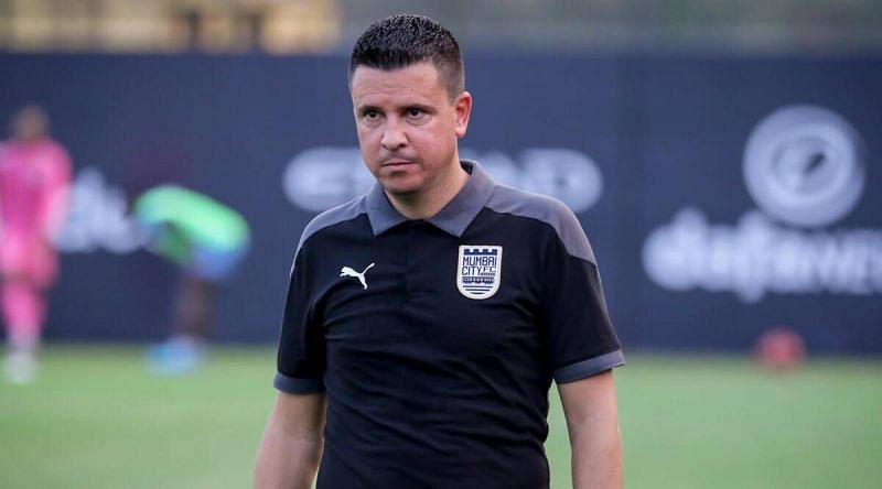 Sergio Lobera spoke to the media ahead of the first leg of the first semi-final between Mumbai City FC and FC Goa.