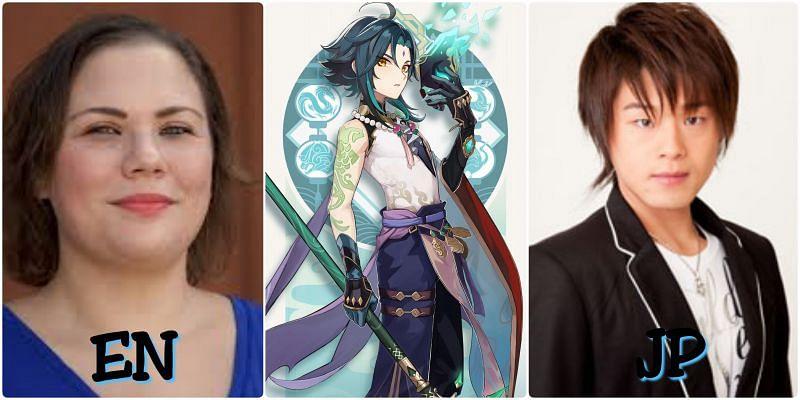 Voice actors of Xiao