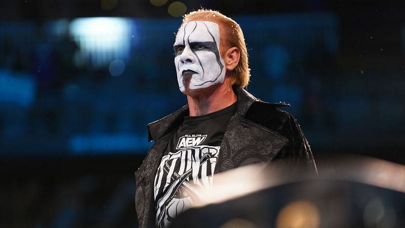 Sting had a tremendous performance at Revolution 2021