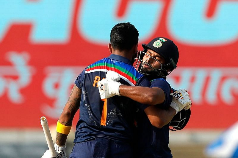 KL Rahul and Rishabh Pant powered India to 336/6 (Image credits BCCI)