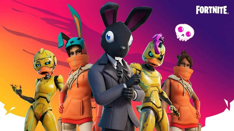 Fortnite Spring Breakout outfits (Image via Epic Games)