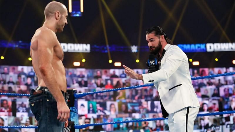 Seth Rollins and Cesaro will do battle at WrestleMania 37