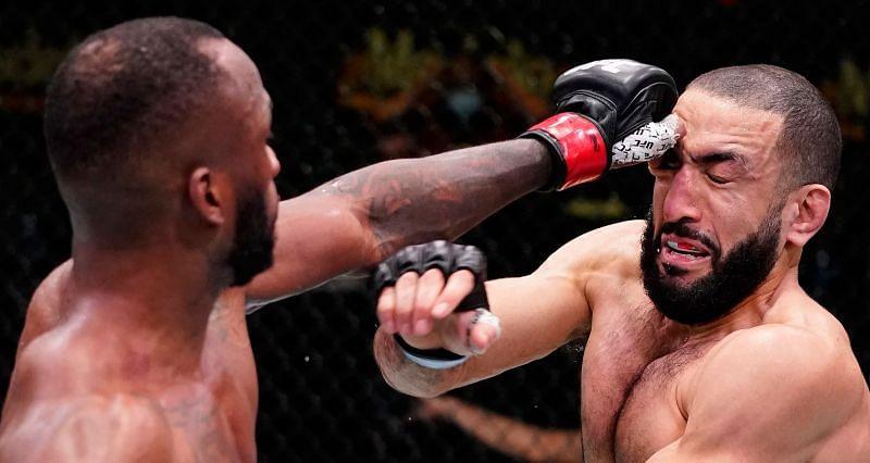 Belal Muhammad suffered a gruesome eye-poke in his last fight