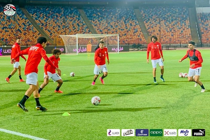 Egypt will host Comoros on Monday; photo credit: Egypt FA Twitter