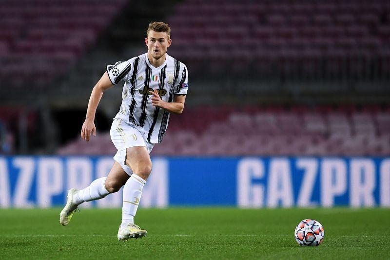 Matthijs De Ligt in action for Juventus