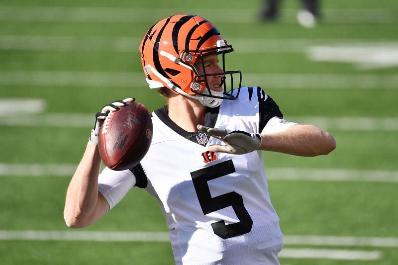 Cincinnati Bengals QB Ryan Finley