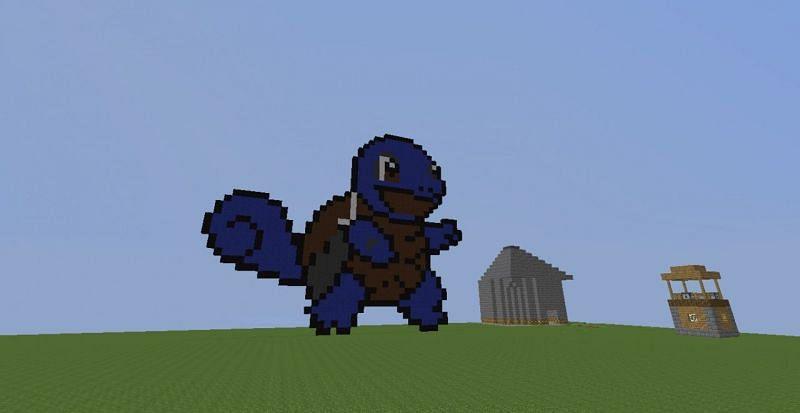 Creative mode build (Image via planetminecraft.com)
