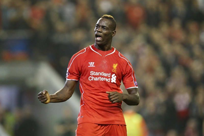Mario Balotelli scored just one league goal in 14 games with Liverpool.