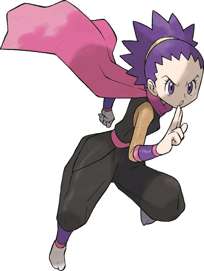 Janine (Image via Bulbapedia)